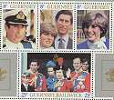 1981 Guernsey Royal Wedding M/S MNH (12804)