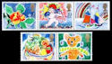 1989-01-31 SG1423/7 Greetings Stamps MINT Set