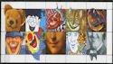 1990-02-06 SG1483/92 Greetings Stamps MINT Set