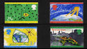 1992-09-15 SG1629/32 Green Issue Stamps MINT Set