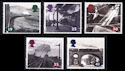 1994-01-18 SG1795/9 Age Of Steam Stamps MINT Set