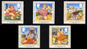 1994-04-12 SG1815/19 Picture Postcards Stamps MINT Set