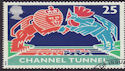 1994-05-03 SG1820 25p Channel Tunnel Stamp Used (23435)
