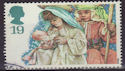 1994-11-01 SG1843 19p Christmas Stamp Used (23458)