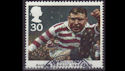 1995-10-03 SG1893 30p Rugby League Stamp Used (23508)