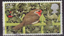 1995-10-30 SG1897 25p Christmas Robin Stamp Used (23512)