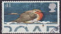 1995-10-30 SG1899 41p Christmas Robin Stamp Used (23514)
