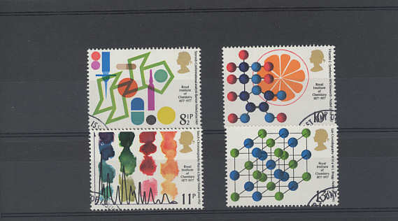 Chemistry Stamps 1977