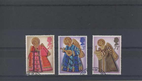 Christmas Stamps 1972