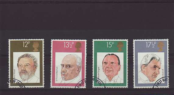 British Conductors Stamps 1980