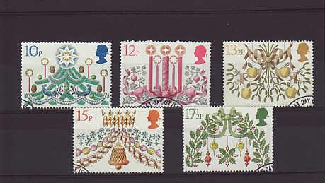 Christmas Stamps 1980
