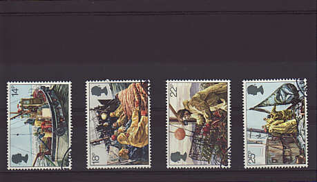 Fishing Industry Stamps 1981