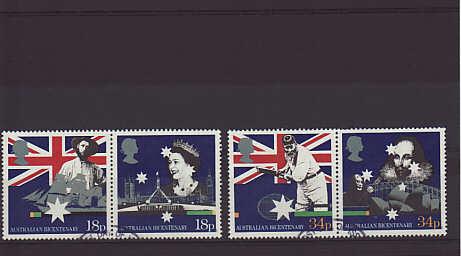 Australian Bicentenary Stamps 1988