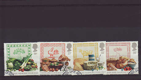 Food and Farming Stamps 1989