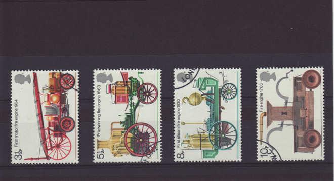 Fire Engine Stamp 1974