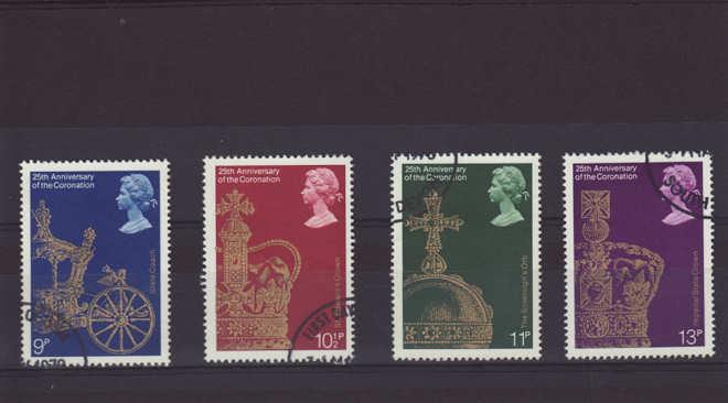 coronation Stamps 1978