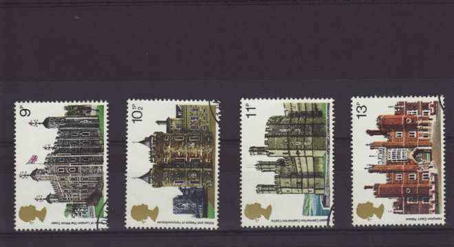 British architecture r historic buildings Stamps 1978