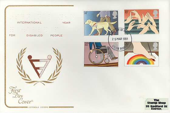 1981-03-25 Year Of The Disabled FDI (4067)