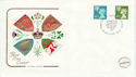 1976-01-14 Scotland Definitive Edinburgh FDC (44815)