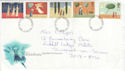 1996-10-28 Christmas Stamps Kidderminster FDI (44920)