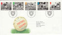1996-05-14 Football Legends Bureau FDC (45312)