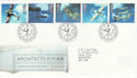 1997-06-10 Architects of the Air Bureau FDC (45320)
