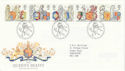 1998-02-24 The Queen's Beasts Bureau FDC (45328)