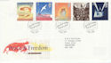 1995-05-02 Peace and Freedom Bureau FDC (45337)