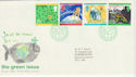 1992-09-15 Green Issue Bureau FDC (45353)