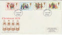 1978-11-22 Christmas Stamps Dudley FDI (45441)