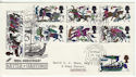1966-10-14 Battle of Hastings Dartmouth cds FDC (45501)