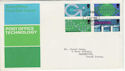 1969-10-01 Post Office Technology BUREAU FDC (45561)