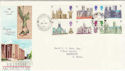 1969-05-28 Cathedrals Stoke Fleming cds FDC (45565)