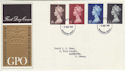 1969-03-05 Machin Definitive Windsor FDC (45721)