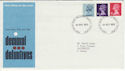 1973-10-24 Machin Definitive Bureau FDC (45729)