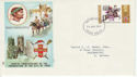 1971-08-25 City of York Anniv S Devon FDC (45794)