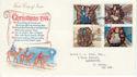 1974-11-27 Christmas Stamps S Devon FDC (45811)