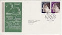 1972-11-20 Silver Wedding Windsor FDC (45830)