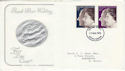 1972-11-20 Silver Wedding S Devon FDC (45833)