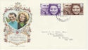 1973-11-14 Royal Wedding S Devon FDC (45844)