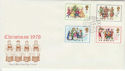 1978-11-22 Christmas Stamps Commons SW1 cds FDC (45863)