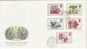 1982-11-17 Christmas Carols Commons SW1 cds FDC (45896)