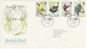 1980-01-16 British Birds Sandy Beds FDC (45938)