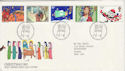 1981-11-18 Christmas Stamps Bethlehem FDC (45953)