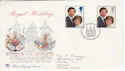 1981-07-22 Royal Wedding London EC FDC (46046)