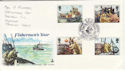 1981-09-23 Fishing Industry Aberdeen FDC (46049)