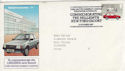 1982-10-13 Ford Escort Halewood Official FDC (46063)