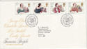 1980-07-09 Authoresses Haworth FDC (46126)