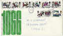 1966-10-14 Battle of Hastings London FDC (46149)