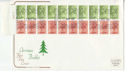 1980-11-12 Christmas Bklt Windsor Cylinder Margin FDC (46163)